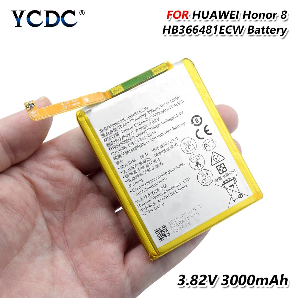 HB366481ECW batterie pour Huawei Honor 8 8 Lite Honor 5C Ascend P9 P9 Lite G9 téléphone Rechargeable li-ion li-po batterie au Lithium