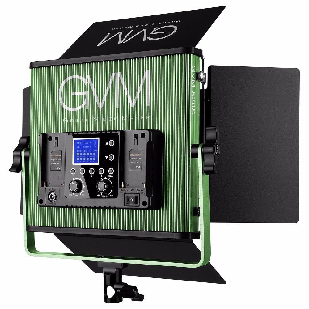 Gvm Photo Studio Led Ring Light: GVM 520S Professional CRI97 Bi Bolor LED Video Studio