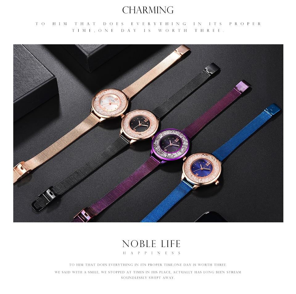 IBSO Brand Women Fashion Watch 2018 Mesh Strap Watch Female Watch 16