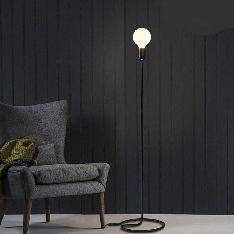 Loft retro minimalist modern Floor Lamps living room dining room kitchen bedroom decorative standard lamps line