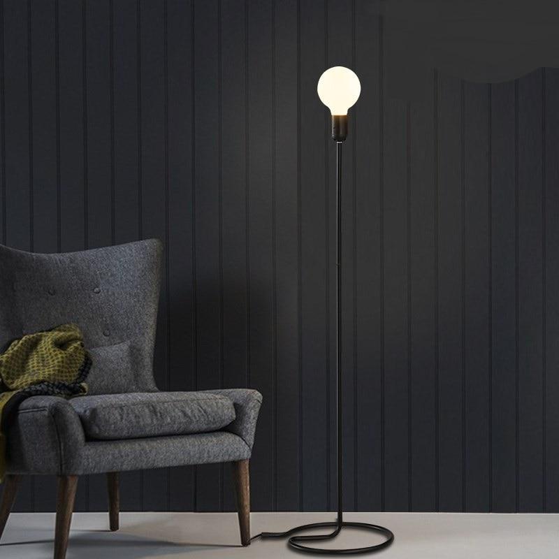 Modern Floor Lights Standing Lamps For Living Room Loft: Loft Retro Minimalist Modern Floor Lamps Living Room