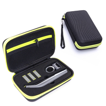 Portable Case for Philips OneBlade Pro Trimmer Shaver Accessories EVA Travel Bag Storage Pack Box Cover Zipper Pouch with Lining