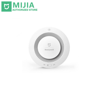Xiaomi Mijia Honeywell Smart Fire Alarm Smoke Detector Audible Visual Alarm Work With Gateway Mihome APP Remote Control
