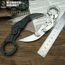 Claw-Knife Mechanical Karambit-Scorpion Self-Defense-Too Camping Jungle Fixed-Blade Hunting-Knives