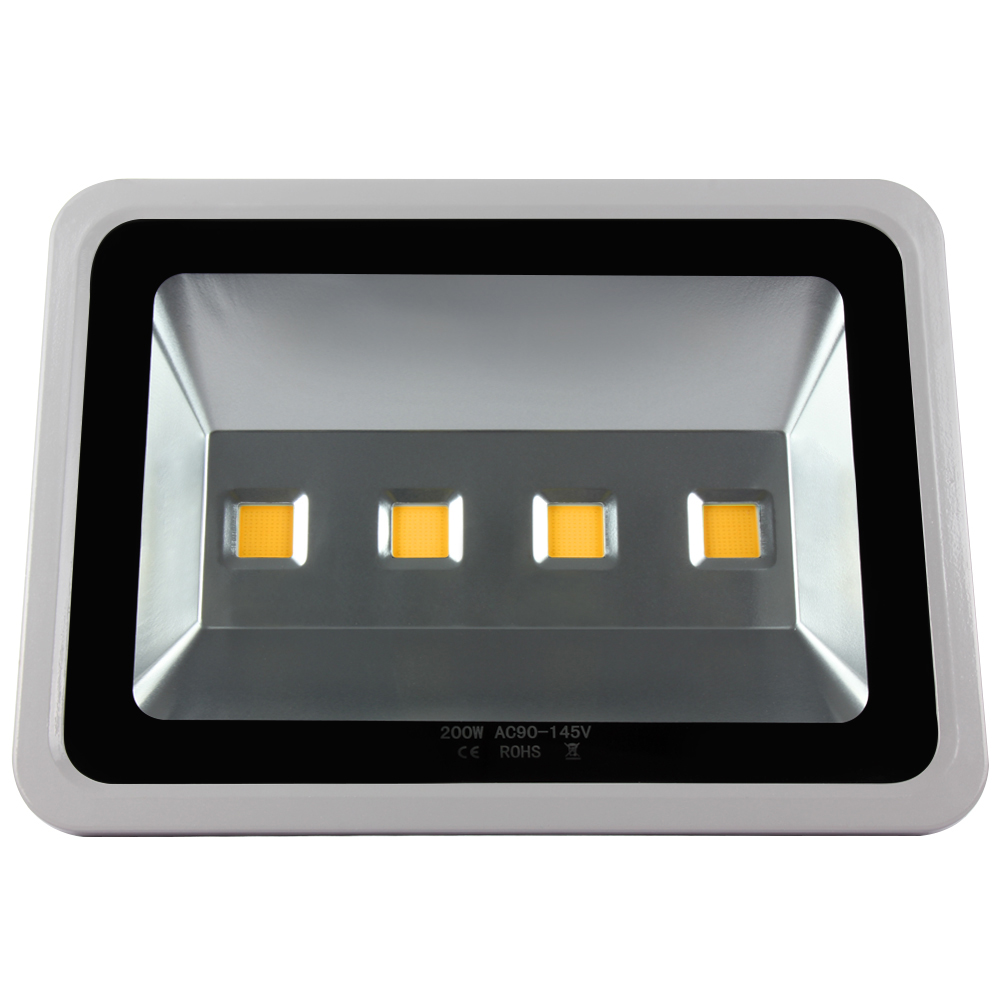 4pcs 200W Outdoor Led Flood light Warm/Cool White Garden lamp Led Floodlight Spotlight lighting Waterproof IP65 220V/110V