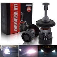 H4 LED Car Headlight Kit Safego Hi Lo 30W 5000Lm High Quality CR LED Chips Super