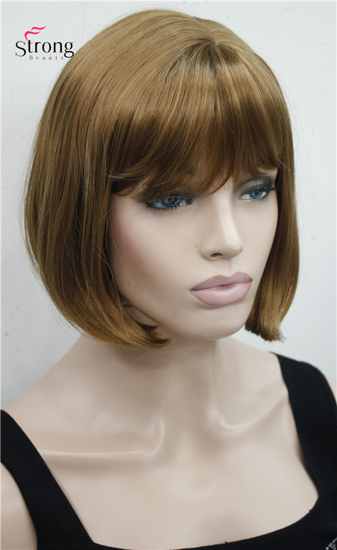 Diligent Bob Wig Fei-show Synthetic Heat Resistant Short Wavy Hair Peruca Pelucas Costume Cartoon Role Cos-play Blonde Fringe Hairpiece Hair Extensions & Wigs