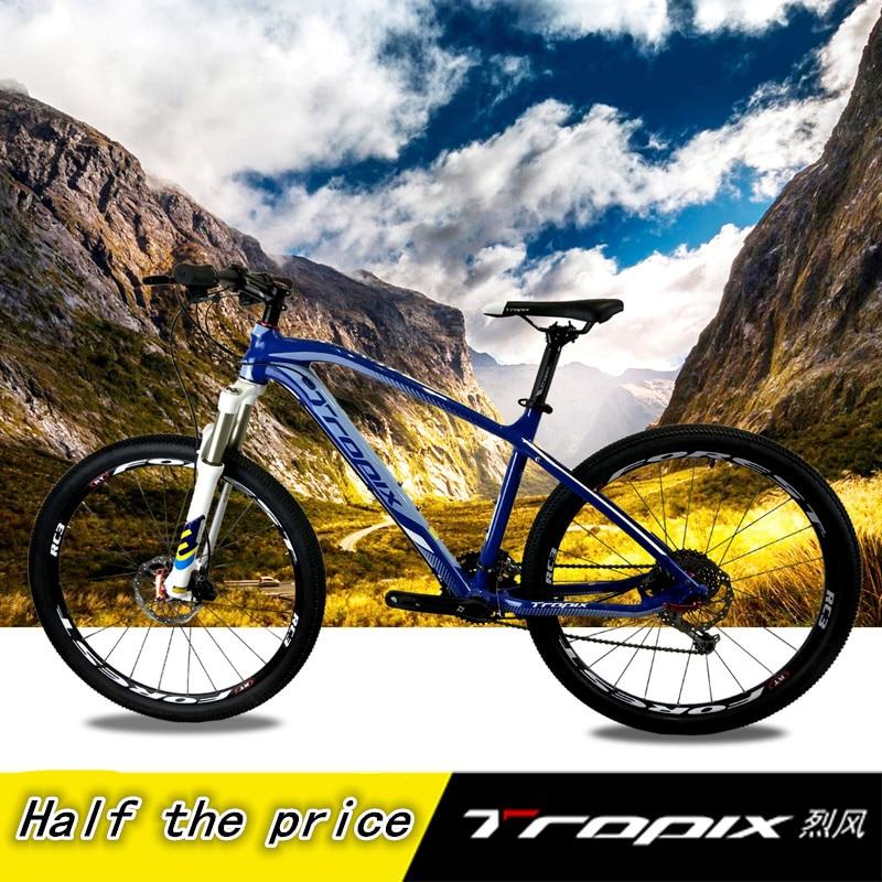 Высокое качество 26 дюйм(ов) велосипеды Сталь 30 скорость алюминиевая рама горный велосипед Нескользящие педали гидравлические дисковые тор...