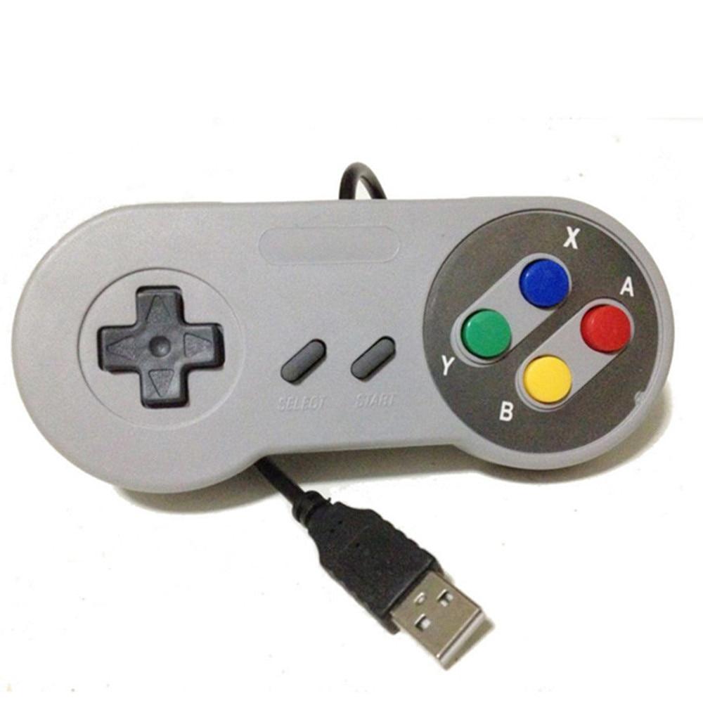 Universal USB Game Controller Gaming Joystick Gamepad Controller for SNES Game pad for Windows PC MAC Computer Control Joystick