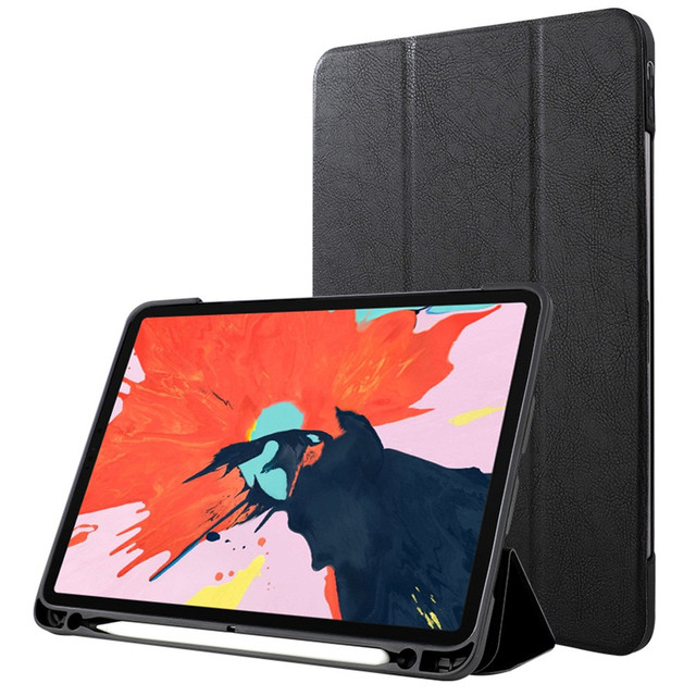 Silicone For iPad Pro 11 2018 tablet case For iPad Pro Case For Apple Pencil Holder