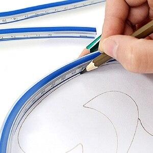 Image 2 - 90 cm Meten Flexibele Curve Heerser Tool voor Crafting Opstellen PatchWork 35 Inch