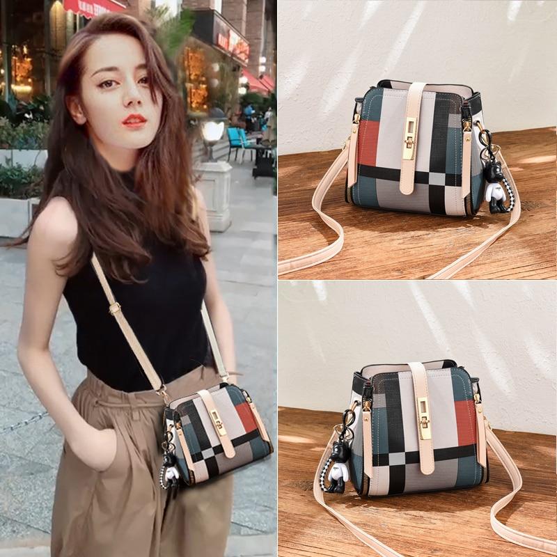 HOW.R.U Luxury Handbags Women Bags Designer European Style Crossbody Bags For Women 2019 Summer PU Leather Ladies Hand Bags