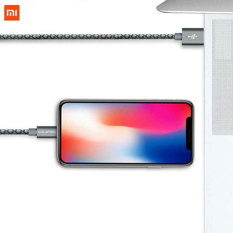 Image 4 - Original Xiaomi Cable for iPhone Fast Charging Data Cable for iPhone X XS MAX 8 7 6 6S 5 iPad mini USB Charger Wire cord-in Mobile Phone Cables from Cellphones & Telecommunications