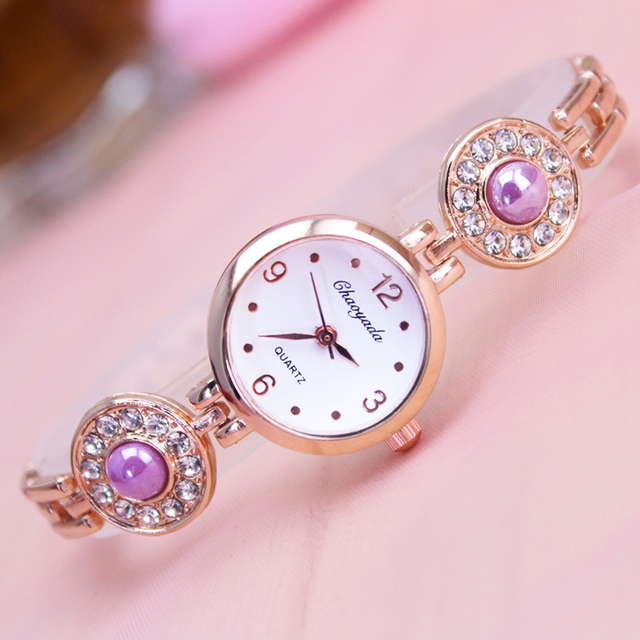 2018 Top Famous Brand Hand Catenary Watch With Diamond Pearl
