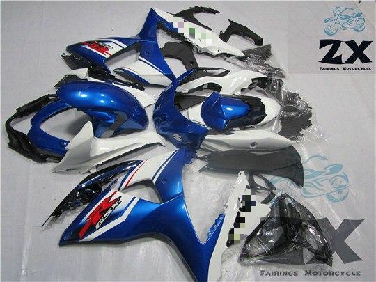 Carene completo Per gsxr1000 suzki 2009 2010 2011 2012 2013 2014 2015 di Plastica Ad Iniezione Kit Carenature Del Motociclo SUK 1014