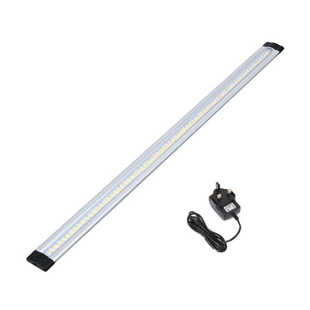 Dimmable Led Lighting Kit Linkable Low Profile Aluminum Rigid Strip For Display Case And Under