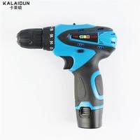 Kalaidun 12v mobile electric drill power tools electric screwdriver lithium battery cordless drill mini drill hand.jpg 200x200