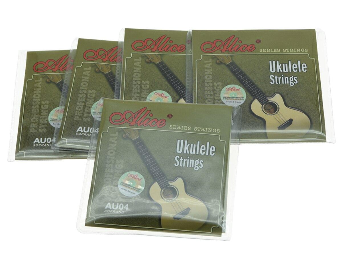 Alice Professional 5 Vendos Najloni të Qarkut Nulon Ukulele 1-të - Instrumente muzikore