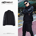 baseball uniforms in the fall of the first fall of male men's jacket baseball clothing big yards sleeve hip-hop jacket couple