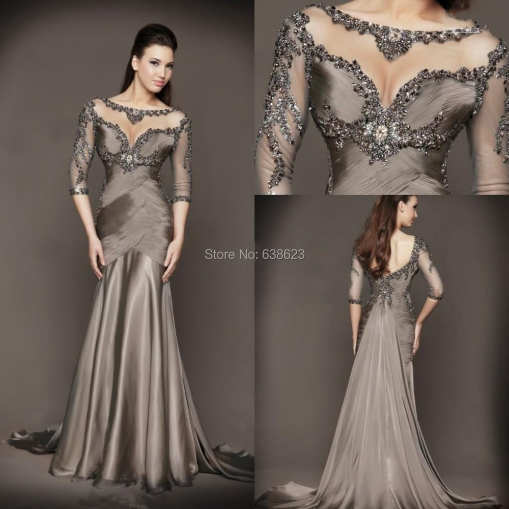 DAE2041 New Collection Mermaid Evening Dresses Formal Gowns With ...