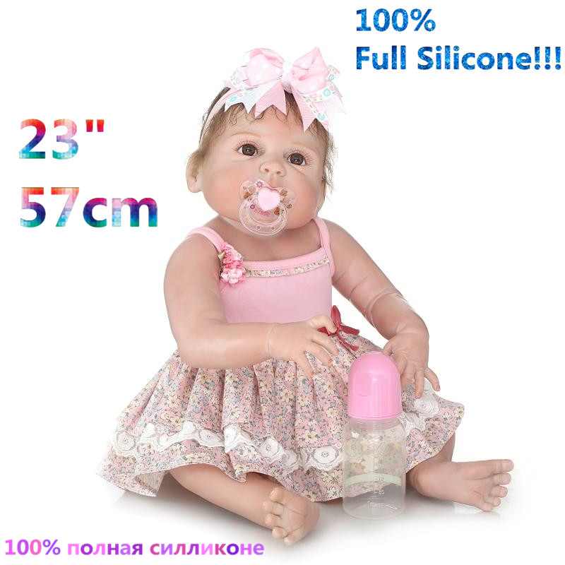 Newest Early Education Full Body Silicone Doll Reborn Babies Brinquedo Lifelike Reborn Baby Dolls RB16-10H10 christmas gifts in europe and america early education full body silicone doll reborn babies brinquedo lifelike rb16 11h10