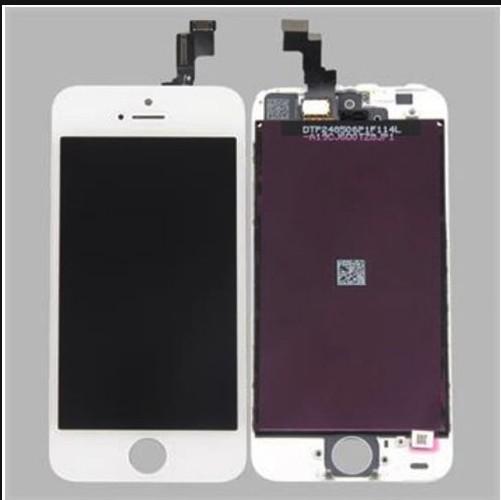 Nova lcd screen display toque digitador assembléia peças de reposição do painel de vidro para iphone 5s reparação parte venda quente frete grátis