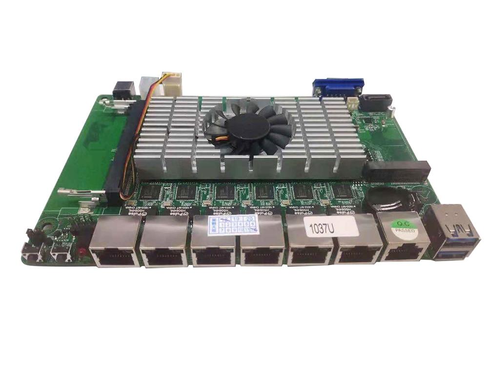 Image 5 - Firewall Appliance Fanless Mini PC Intel Celeron 1037U 6*Ethernet Gigabit LAN RJ45 Console Soft Router Pfsense ROSMini PC   -