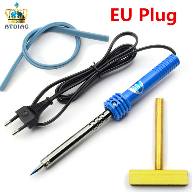 T-Head Soldering Iron Plus T-tip Rubber for B-M-W for B-e-nz Car Dashboard Cluster LCD Pixel Repair Tool