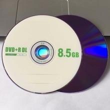 50 discs Grade A X8 8.5 GB Blank Fruit Printed DVD+R DL Disc