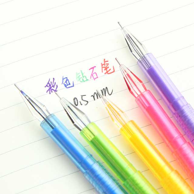 1PC 0.5mm Candy colors ink Gel Pen Kawaii Photo Album Stationery Korean Office student Material School Supplies gift DIY Banner Pens