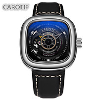 Top Brand Luxury CAROTIF Tourbillon Men Watches Men Montre Automatic Mechanical Wrist Watches Reloj Hombre Business