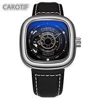 Top Brand Luxury CAROTIF Tourbillon Men Watches Men Montre Automatic Mechanical Wrist Watches Reloj Hombre Business Watch Man