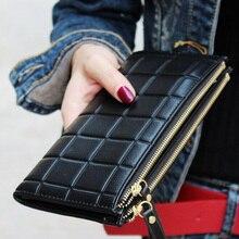 Модный женский кошелек, клатч, женский кошелек, лучший кошелек для телефона, женский длинный полиуретановый чехол, карман для телефона, Carteira Femme