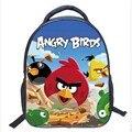2017 Angry Birds Zoo Mochilas para Niños Niños Pequeños Animales Niñas Mo Bolso de Escuela Lindo Del Bebé Bolsa de jardín de Infantes Mochila infantil