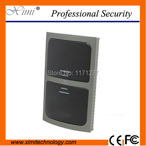 Free shipping IP65 waterproof 125KHZ rfid card reader for door access control 10cm sensing distance Wiegand26 ID card reader