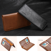 New Affordable Luxury Retro Real Genuine Leather Case For Samsung Galaxy A5 Flip Phone Cover FLOVEME