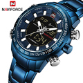 2018 мужские часы люксовый бренд NAVIFORCE армейский Милитари спортивный часы Мужские кварцевые цифровые аналоговые часы Relogio Masculino