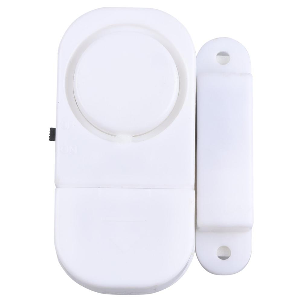 Wireless White Home Indoor Window Door Burglar Security ALARM System Magnetic Sensor Super Loud Detector GT
