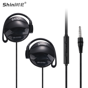 Earphone Q140S General Purpose Ear Hook Headphone Headset with Microphone for iPhone Samsung Xiaomi All Mobile Phone