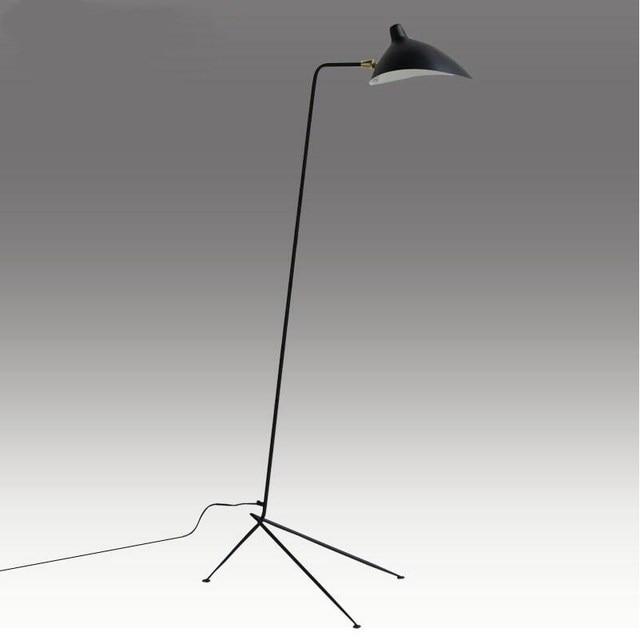 serge mouille verstellbare stehleuchte kreative krallen modernen bodenbeleuchtung f r bett. Black Bedroom Furniture Sets. Home Design Ideas