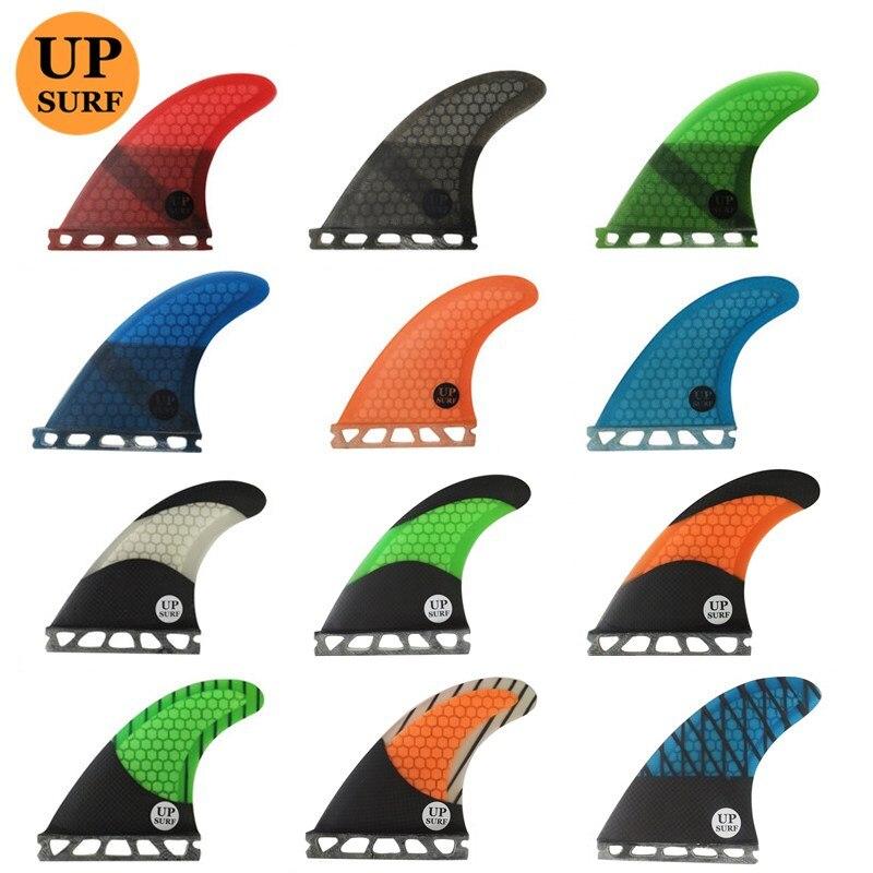 Futuros Barbatanas de SURF G3/G5/G7 quilhas Surf Surfboards Aletas prancha de Fibra De Vidro Do Favo de mel