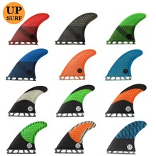 SURF Future G5 Surfing Fins Fiberglass Honeycomb LOGO 5 Colors Available