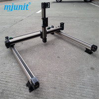 Furniture advertising industry Air cooling spindle linear lineal line rail 3 axis cnc wood carving machine linear rail