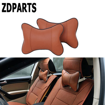 ZDPARTS Car Seat Neck HeadRest Pillow Covers For mazda 3 6 cx-5 alfa romeo 159 mitsubishi asx nissan x-trail t32 bmw x5 e53 e34 image