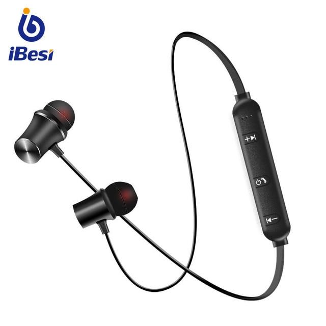 iBesi XT-11 Wireless Bluetooth Earphones Sport Bluetooth Headphones Handsfree Bass Earbuds with Mic Headset for iPhone Xiaomi