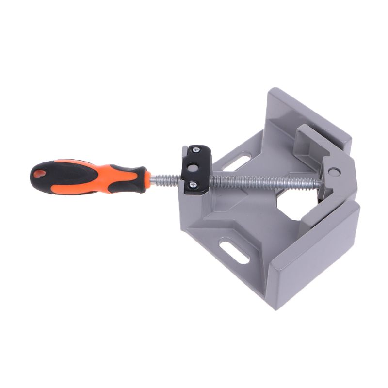 90 Degree Right Angle Clamp Fixed Corner Vice Grip For Woodworking Welding Tool