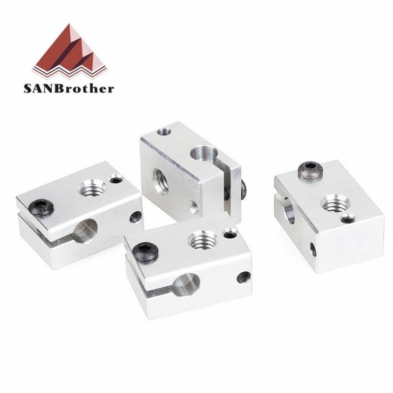 3D Printer Parts New E3D V6 Heater Block For Sensor Cartridges PT100
