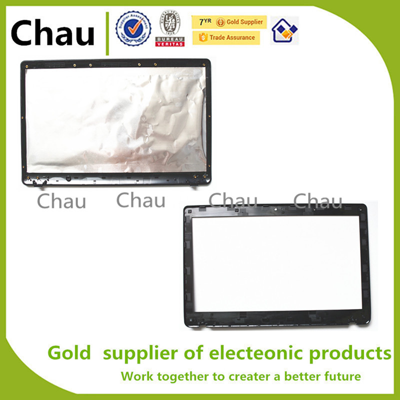 New For ASUS K52 K52J K52F K52JR A52 X52 LCD Back Cover+Lcd Front Bezel Cover 13N0-GUA0A11 13GNXM1AP051-1 for asus k52 x52j a52j k52j k52jr k52jt k52jb k52ju k52je k52d x52d a52d k52dy k52de k52dr audio usb io board interface board