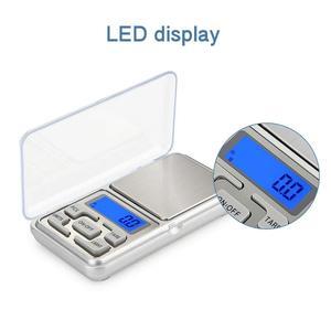 Image 2 - Vastar 200g/300g/500g x 0.01g /0.1g/Mini wagi elektroniczne kieszonkowy cyfrowy skala dla złota srebrna biżuteria bilans Gram