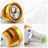 BIFI-6pcs E14 3 W LED A lume di candela, 270 LM (uguale a 25 W ad incandescenza lampade), 2800 K ~ 3000 K, luce bianca calda, AC 220 ~ 240 V,